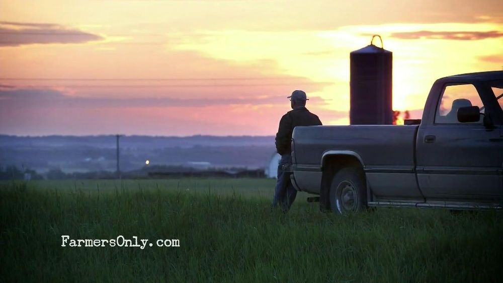 Farmers only dating commercial 2016