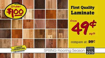 Lumber Liquidators TV Spot, 'Spring Flooring Season'