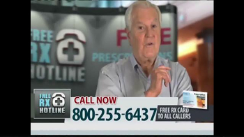 Free RX Hotline TV Spot, 'Brand Name Prescriptions'