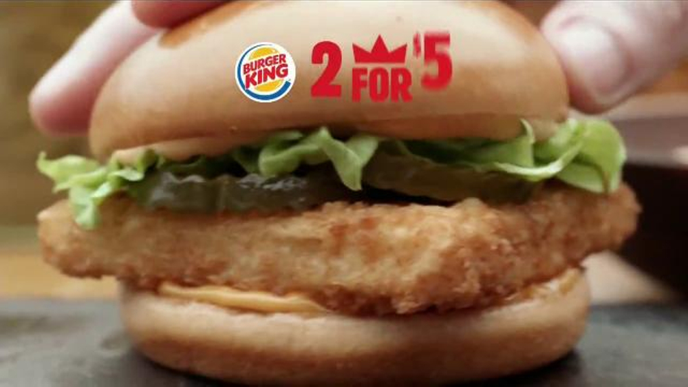 Burger king big fish sandwich tv commercial 39 m s picante for Burger king big fish