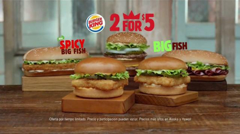 Burger King Big Fish Sandwich TV Spot, 'Más Picante' [Spanish] thumbnail