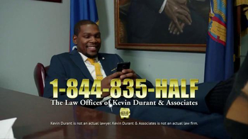 Sprint TV Spot, 'Kevin Durant Lays Down the Law' thumbnail