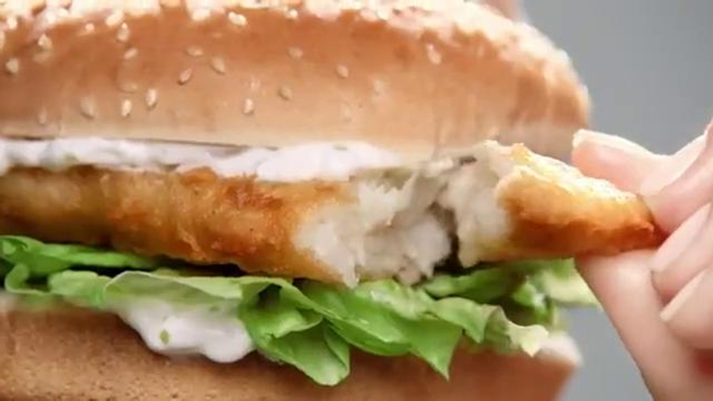 Carl 39 s jr redhook beer battered cod fish sandwich tv spot for Hardee s fish sandwich