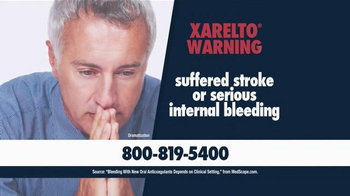 Beasley Allen Law Firm TV Spot, 'Xarelto Warning'
