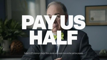 H&R Block: Get Your Billions Back, America: 50% Offer