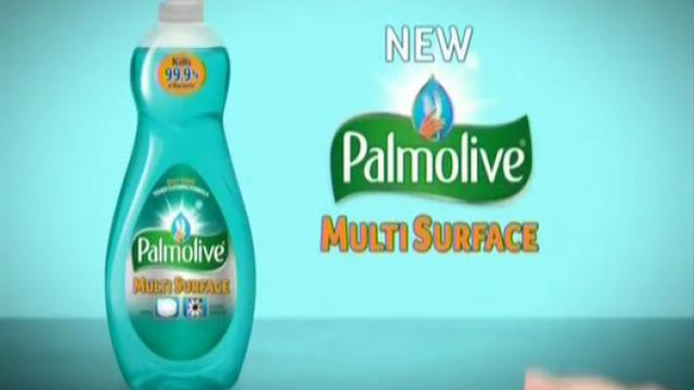Palmolive Multi Surface TV Commercial, 'Hand Models ...