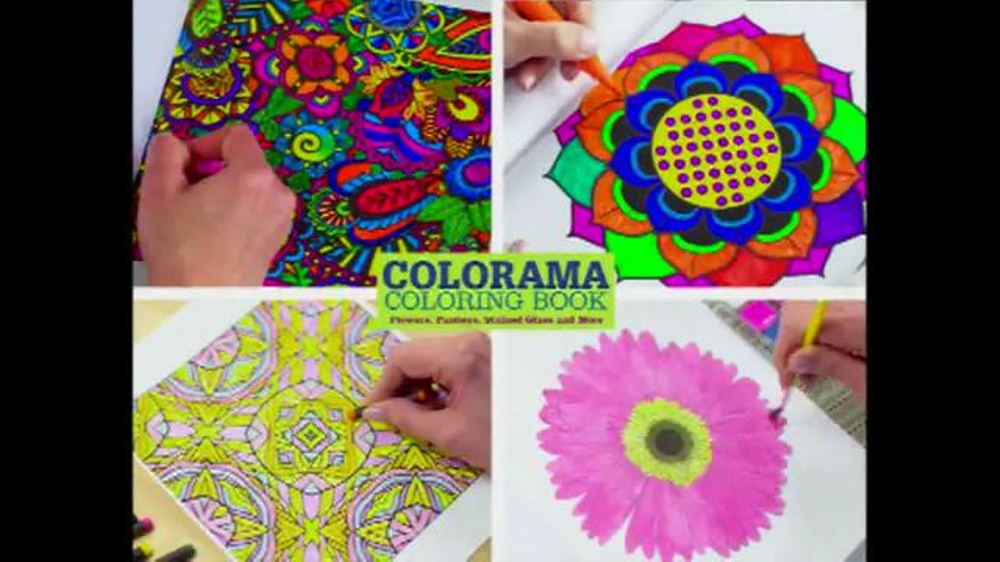 colorama coloring pages colored - photo#35