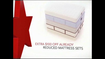 Macy's One Day Sale February 2015 TV Spot, 'Reduced Mattress Sets' thumbnail