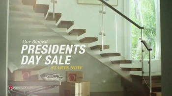 Overstock.com Presidents Day Sale TV Spot, 'Declaration of Savings' thumbnail