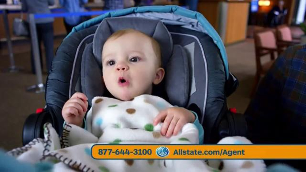 Allstate Safe Driving Bonus Check TV Spot, 'Baby Deposit and Teens'