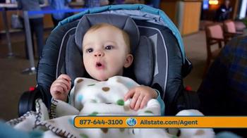 Allstate Safe Driving Bonus Check TV Spot, 'Baby Deposit and Teens'
