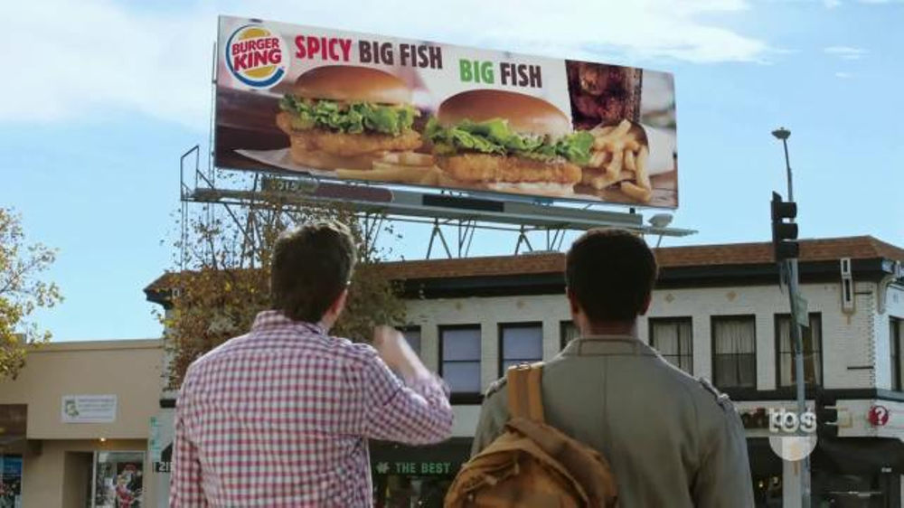 Burger king big fish tv spot 39 tbs big bang theory promo for Burger king big fish
