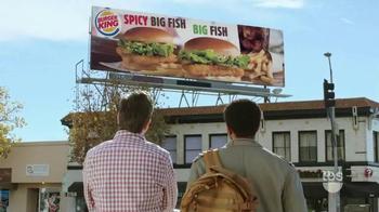 Burger King Big Fish TV Spot, 'TBS: Big Bang Theory Promo' thumbnail