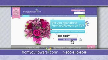 FromYouFlowers.com Mother's Day Special TV Spot