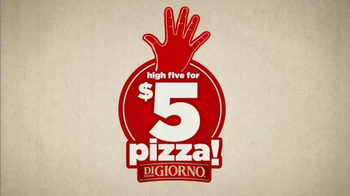 DiGiorno TV Spot, 'High Five for $5'
