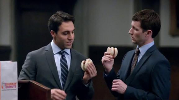 Dunkin' Donuts Chicken Apple Sausage TV Spot, 'Day in Court' thumbnail