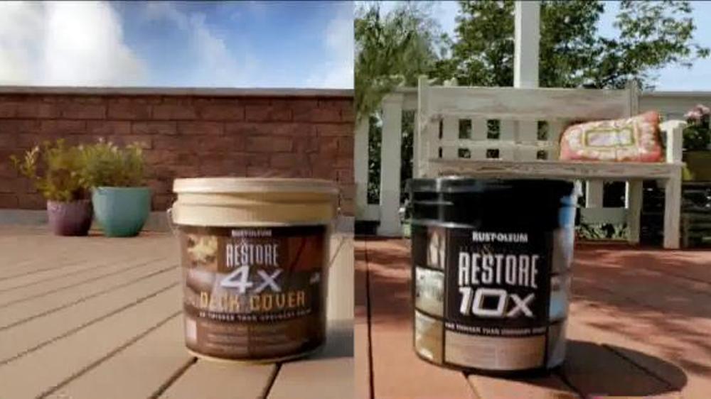 Rust-Oleum Restore TV Commercial, 'Compare' - iSpot.tv