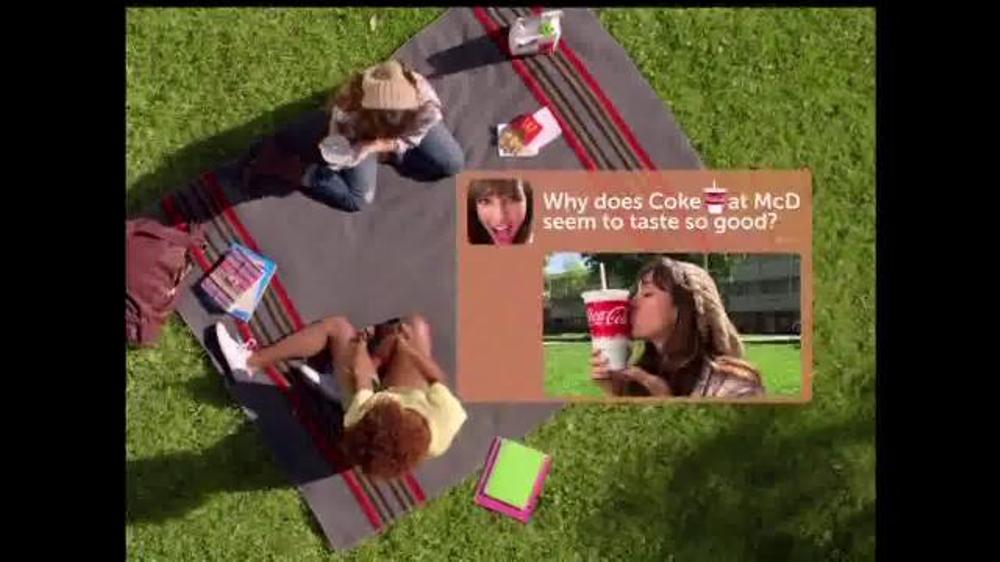 McDonald's TV Spot, 'Coca-Cola: Join the Club' - Screenshot 2