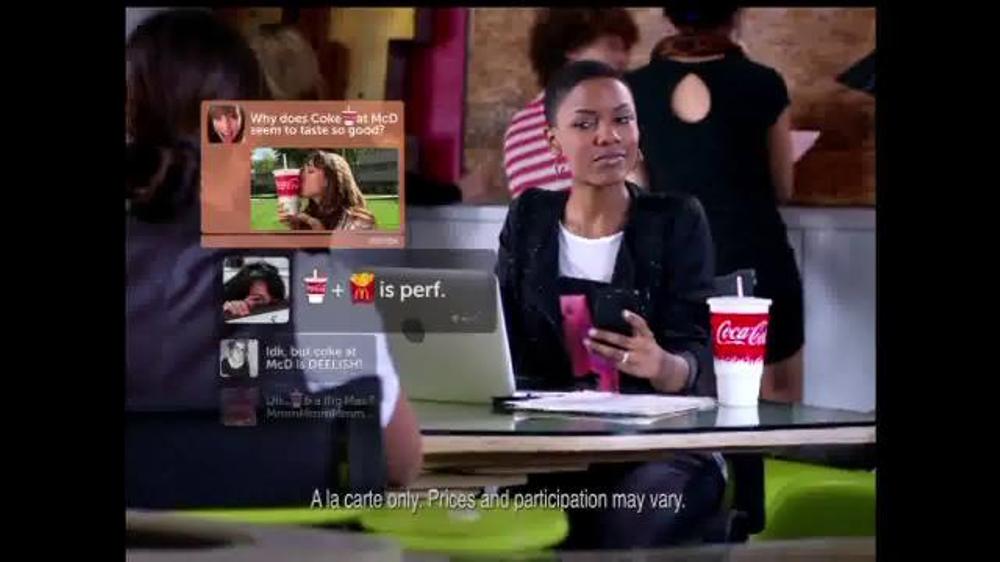 McDonald's TV Spot, 'Coca-Cola: Join the Club' - Screenshot 4