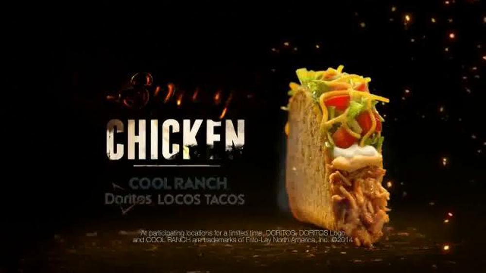 Taco bell spicy chicken cool ranch doritos locos tacos tv spot twins
