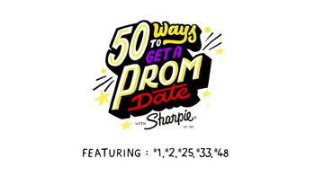Sharpie: 50 Ways to Get a Prom Date