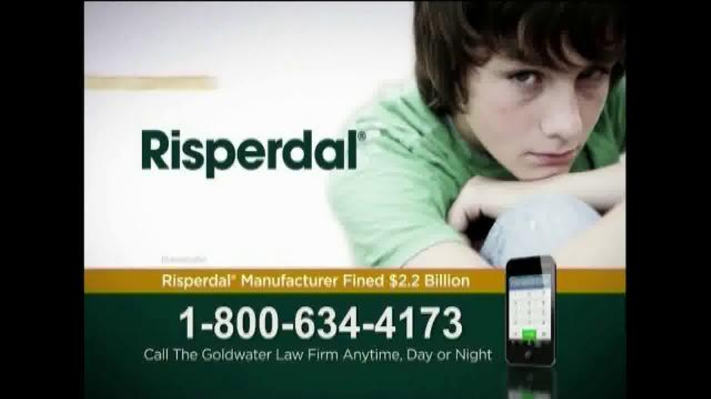 Goldwater Law Firm Tv Commercial Risperdal Ispot Tv