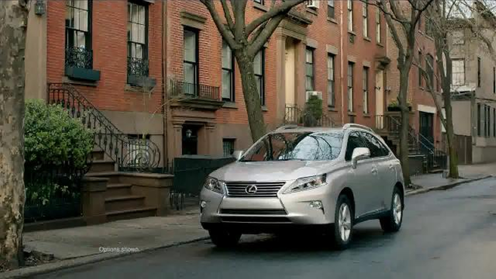 1000 x 562 jpeg 86kB, 2013 Lexus RX TV Commercial, 'First Sight' Song...