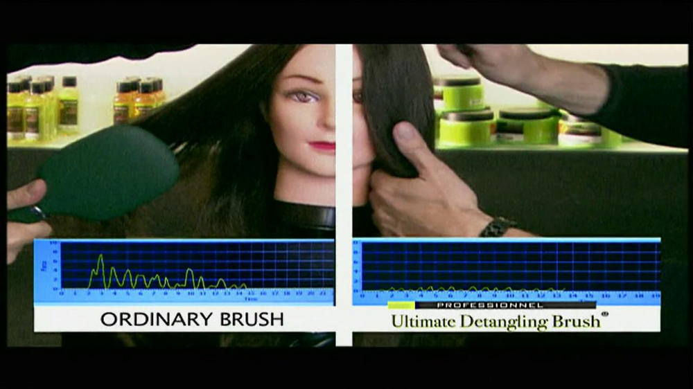 Michel Mercier TV Spot for Ultimate Detangling Brush - Screenshot 6