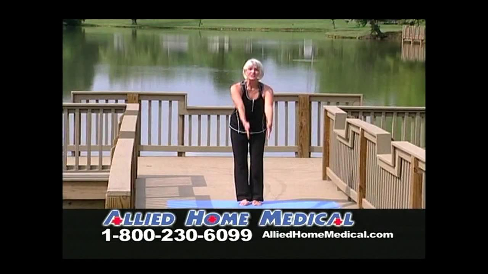 Allied Home Medical TV Spot for Back Pain DDS 500 - Screenshot 1