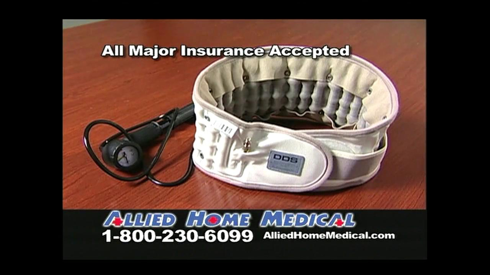 Allied Home Medical TV Spot for Back Pain DDS 500 - Screenshot 10