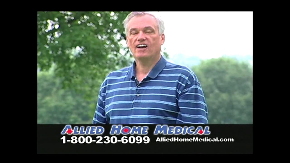 Allied Home Medical TV Spot for Back Pain DDS 500 - Screenshot 2