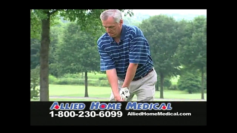 Allied Home Medical TV Spot for Back Pain DDS 500 - Screenshot 3