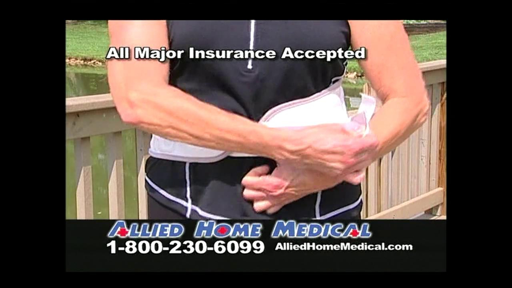 Allied Home Medical TV Spot for Back Pain DDS 500 - Screenshot 6