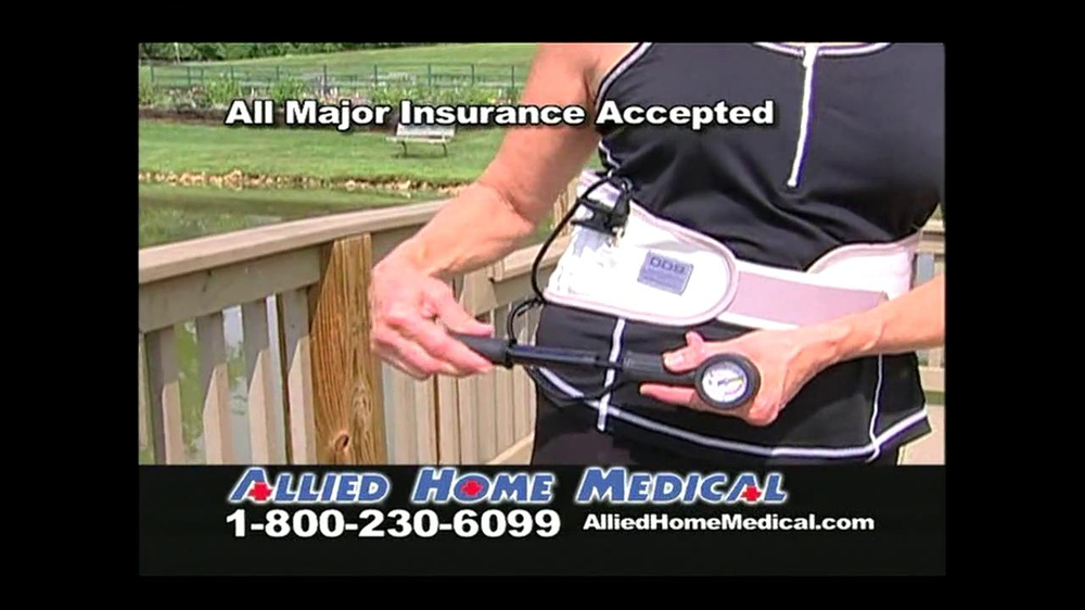 Allied Home Medical TV Spot for Back Pain DDS 500 - Screenshot 7
