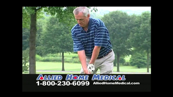 Allied Home Medical TV Spot for Back Pain DDS 500 - Thumbnail 3