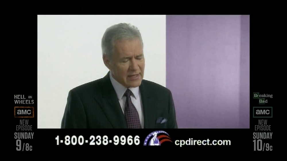 Colonial Penn TV Spotm 'Kitchen' Featuring Alex Trebek - Screenshot 10