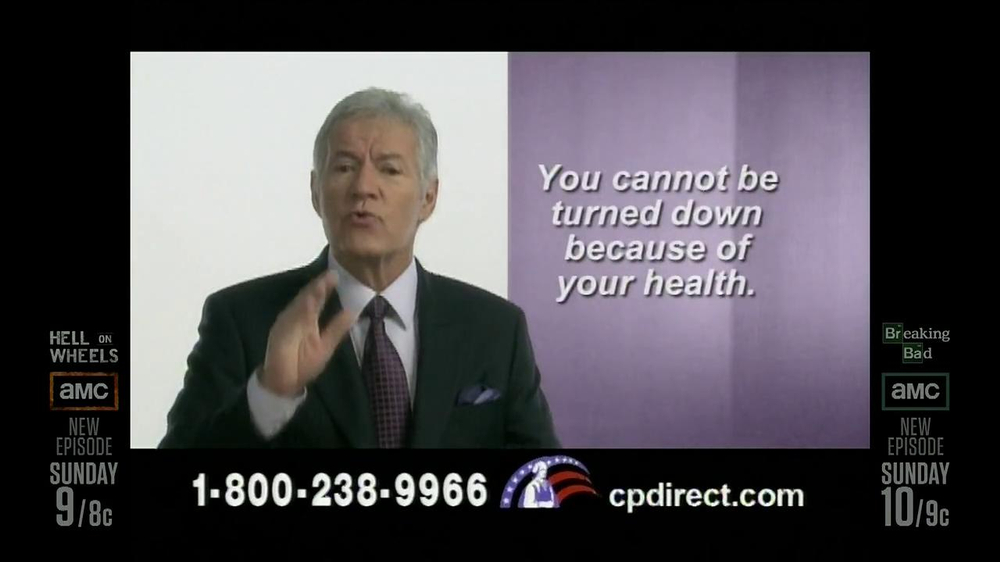 Colonial Penn TV Spotm 'Kitchen' Featuring Alex Trebek - Screenshot 9