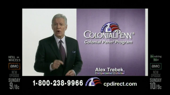Colonial Penn TV Spotm 'Kitchen' Featuring Alex Trebek - Thumbnail 8
