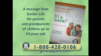 Gerber TV Spot For Grow-Up Plan
