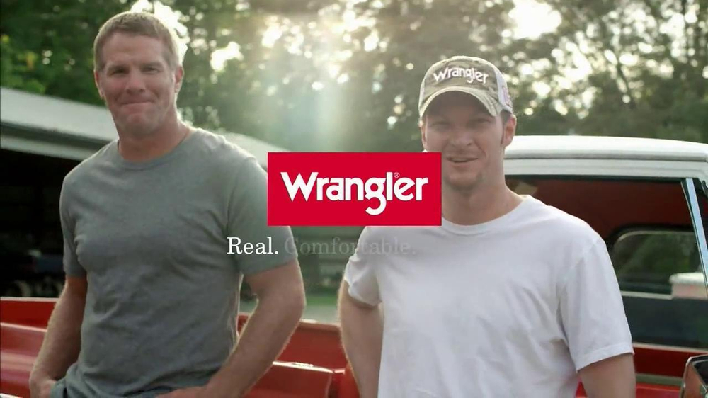 Wrangler TV Spot for UShape Jeans Featuring Brett Favre and Dale Earnhardt - Screenshot 10