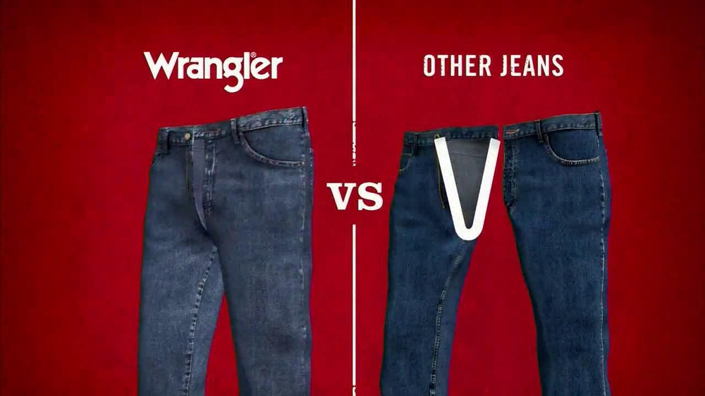 Wrangler TV Spot for UShape Jeans Featuring Brett Favre and Dale Earnhardt - Screenshot 5