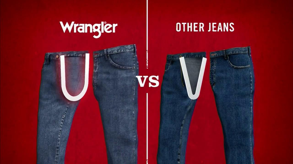 Wrangler TV Spot for UShape Jeans Featuring Brett Favre and Dale Earnhardt - Screenshot 6