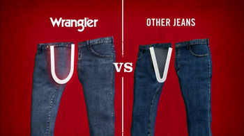 Wrangler TV Spot for UShape Jeans Featuring Brett Favre and Dale Earnhardt - Thumbnail 6
