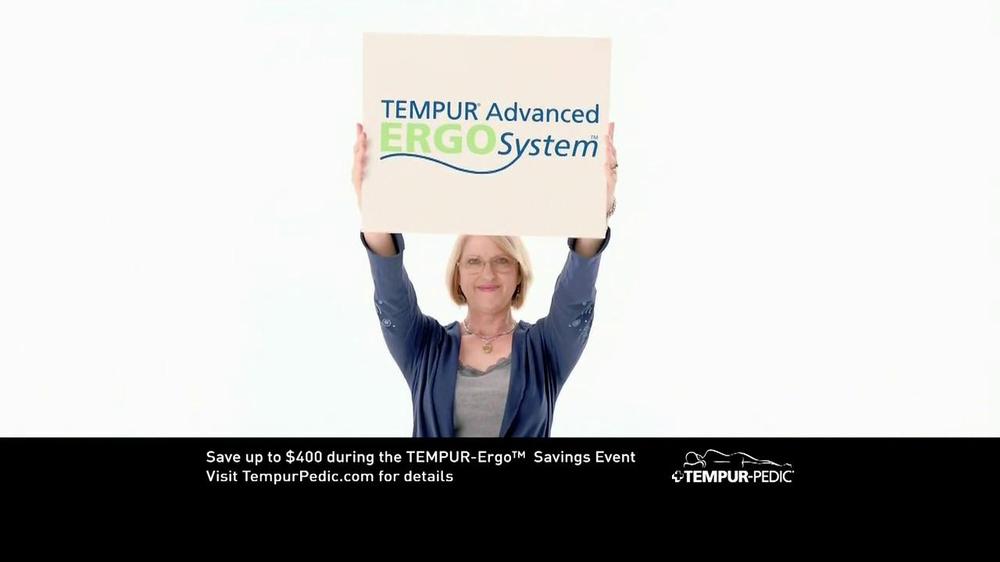 Tempur Pedic Tv Spot For Tempur Pedic Advanced Ergo System