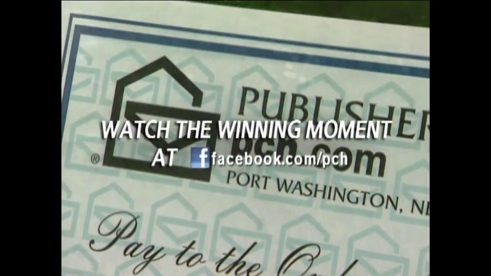 Publishers Clearinghouse TV Spot for Contest Winner John Wyllie - Screenshot 6