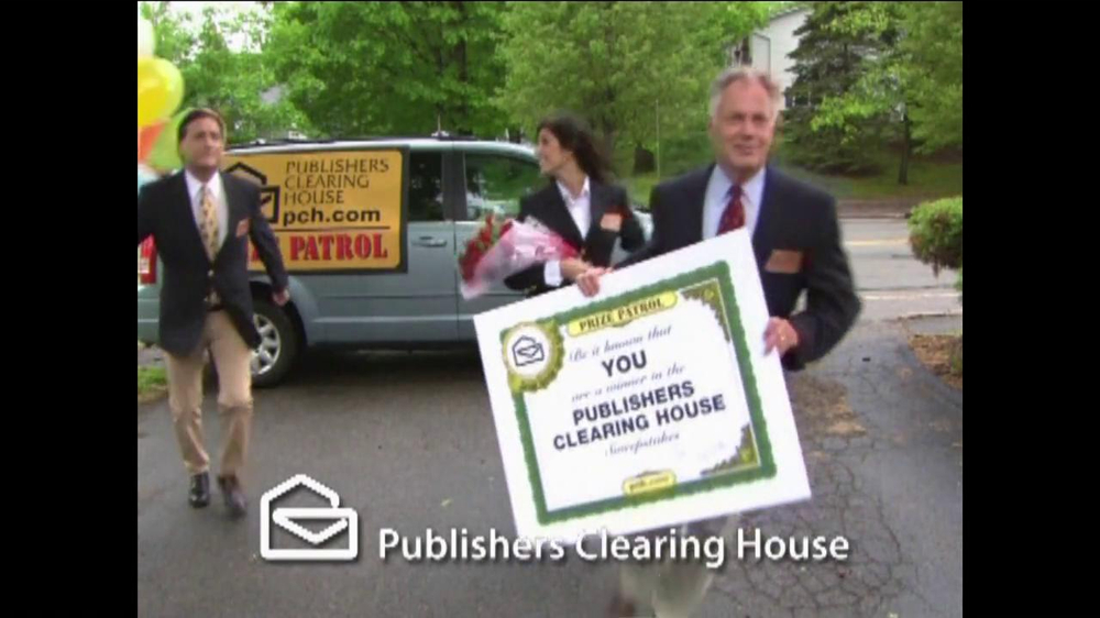 Publishers Clearinghouse TV Spot for Contest Winner John Wyllie - Screenshot 2
