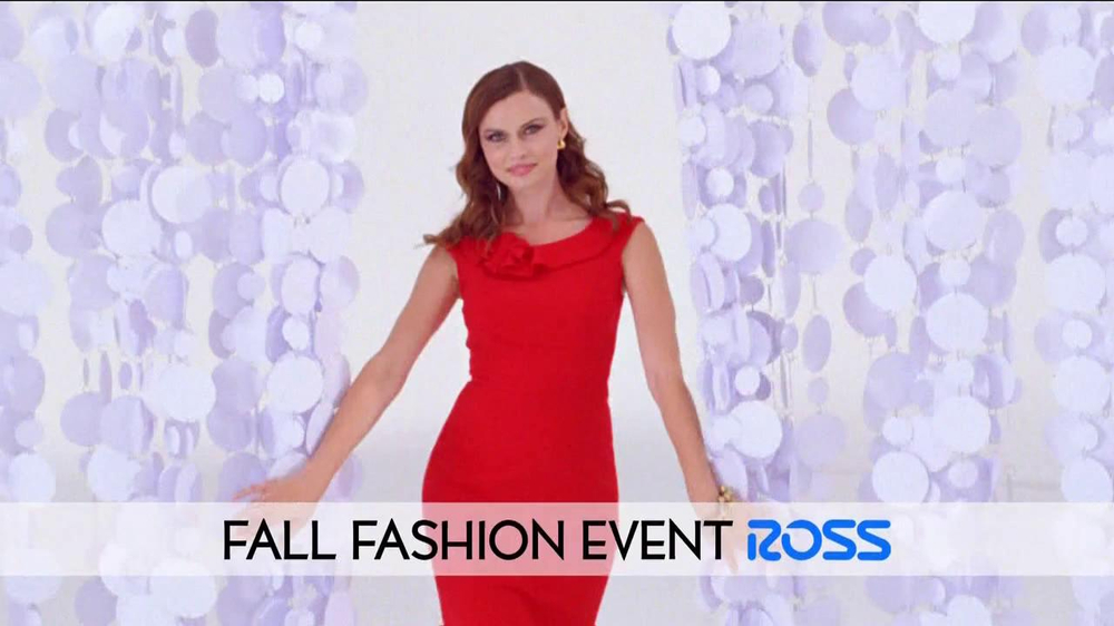 Ross Fall Fashion Event TV Spot - Screenshot 1