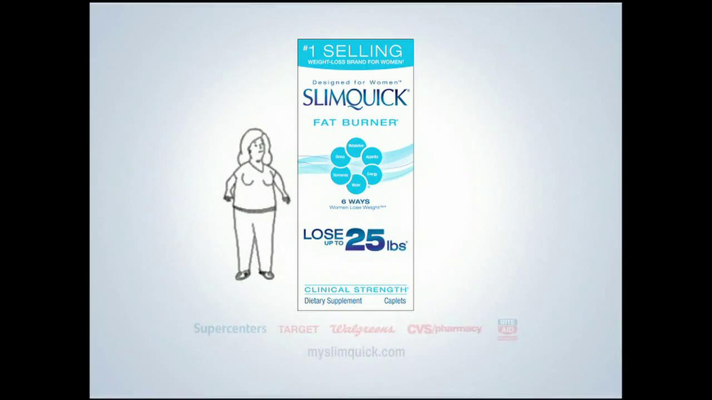SlimQuick TV Spot 'Lose Weight Faster' - Screenshot 9