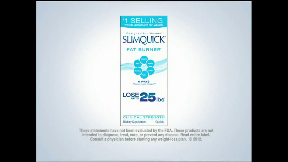 SlimQuick TV Spot 'Lose Weight Faster' - Screenshot 8