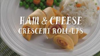 Pillsbury Crescent with Ham and Cheese TV Spot